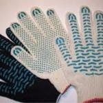 Защитные перчатки для рабочих – хлопковые и с ПВХ