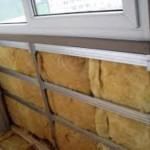 Как самостоятельно утеплить балкон