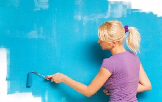 Как правильно окрашивать стены