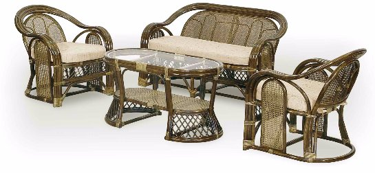 Преимущества мебели из ротанга
