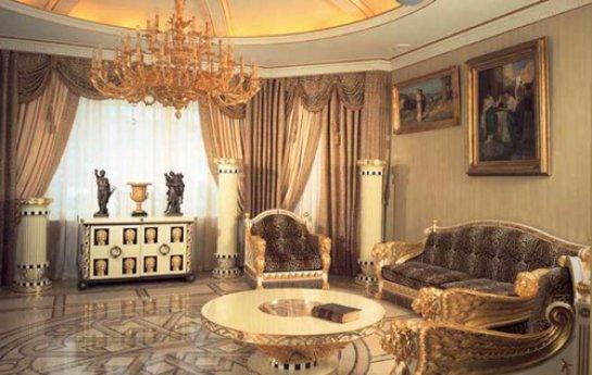 Квартира в египетском стиле