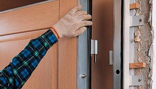 Утепляем входную металлическую дверь
