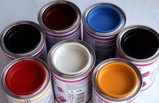 Выбор краски для отделки стен