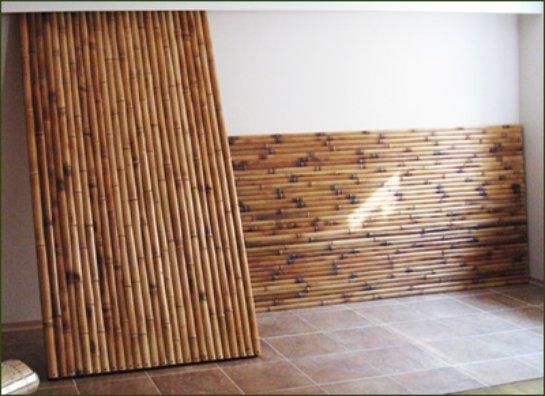 Технология наклейки бамбуковых панелей