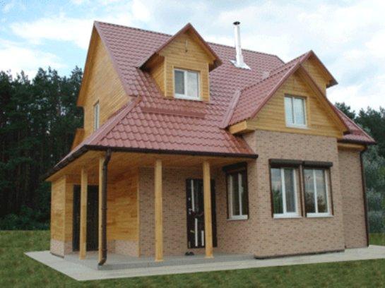 Достоинства каркасно-щитовых домов