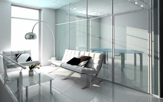 Квартира с прозрачными стенами