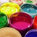 Клеевые краски и порядок их нанесения