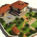 Планировка будущего дома и участка