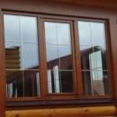Деревянные евроокна со стеклопакетами
