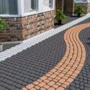 Как собственноручно уложить тротуарную плитку