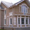 Современные декоративные элементы для фасадов зданий