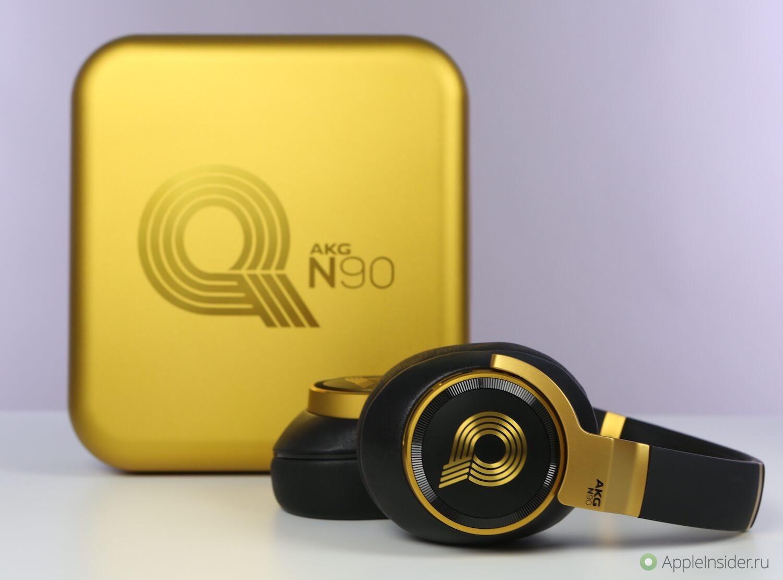 AKG N90Q — наушники, благословленные самим Куинси Джонсом