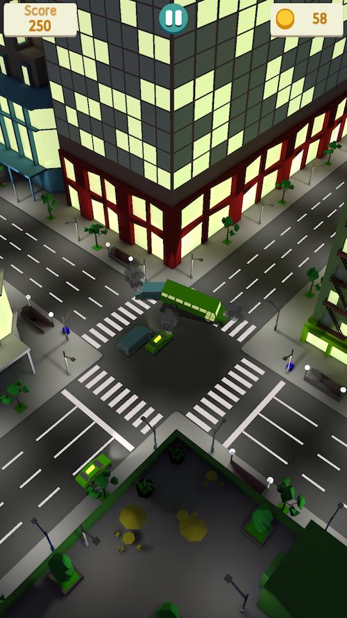 Crossroad crash — этому городу нужен регулировщик