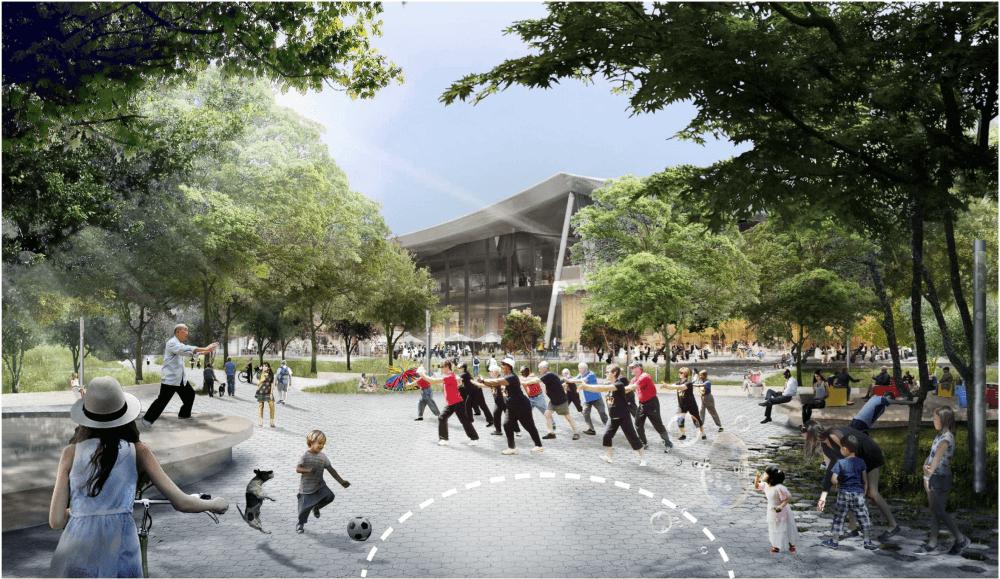 Google тоже захотела себе новый кампус, как у Apple