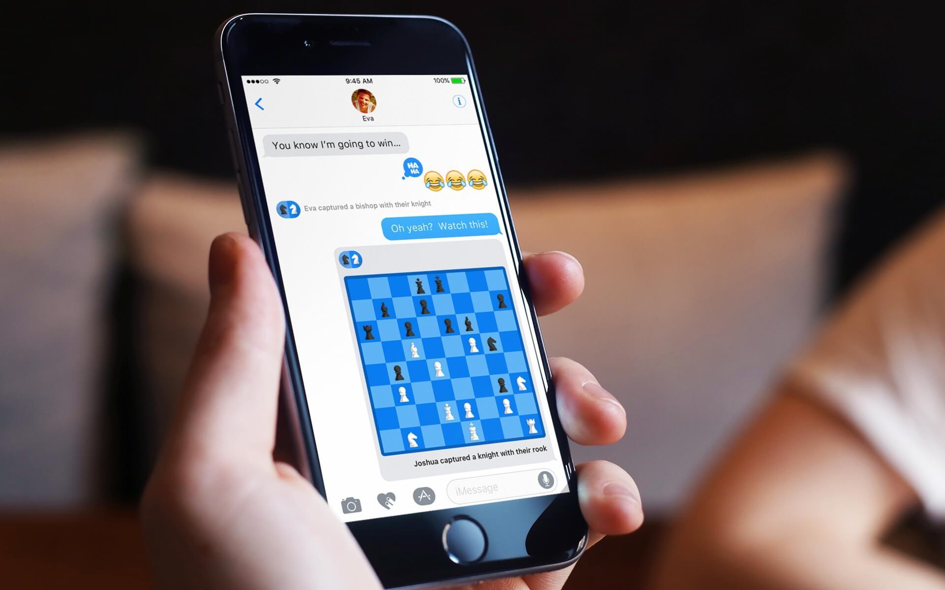 Лучшие игры для iMessage