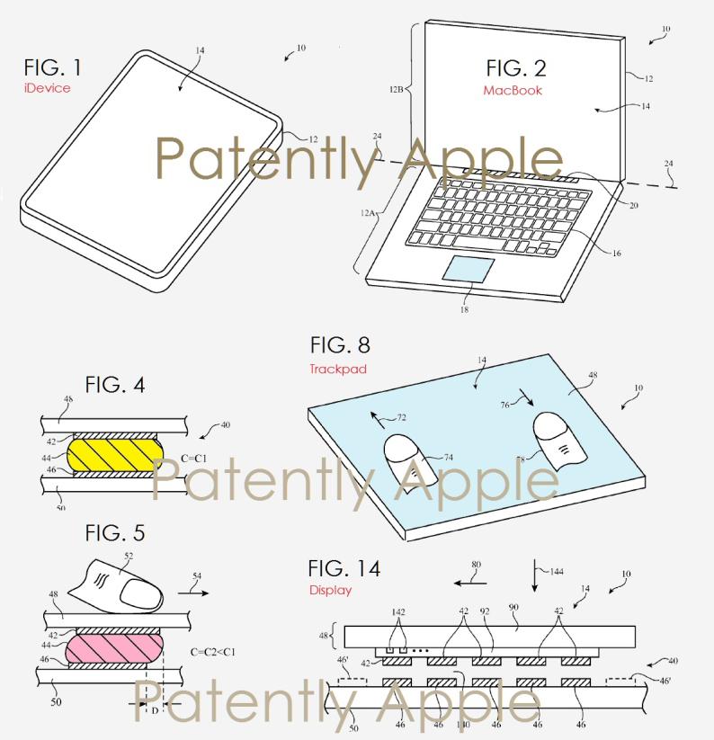 Apple запатентовала мультитач-кожу