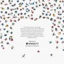 Apple обвинили в плагиате приглашения для WWDC 2017