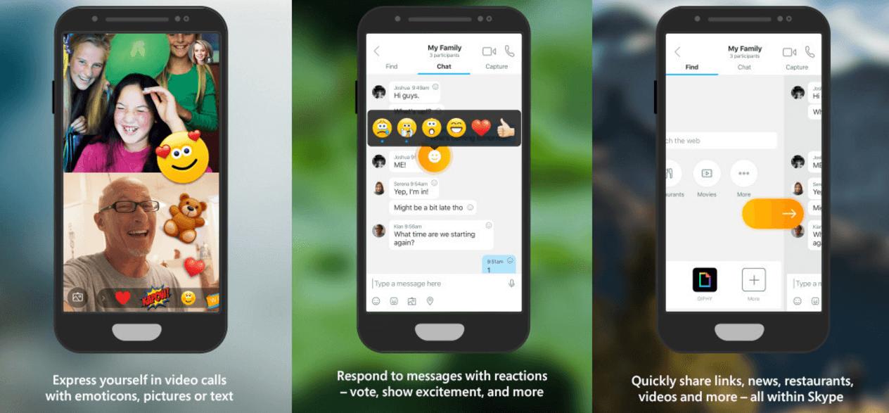 Skype для iOS станет заметно веселей