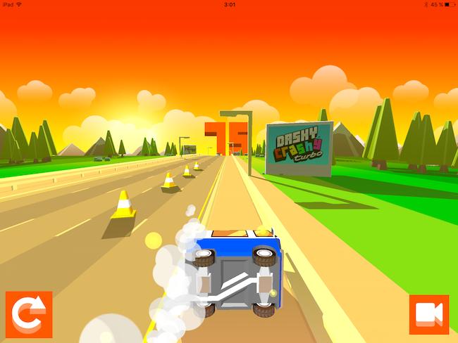 Dashy Crashy — очередное автодорожное нечто