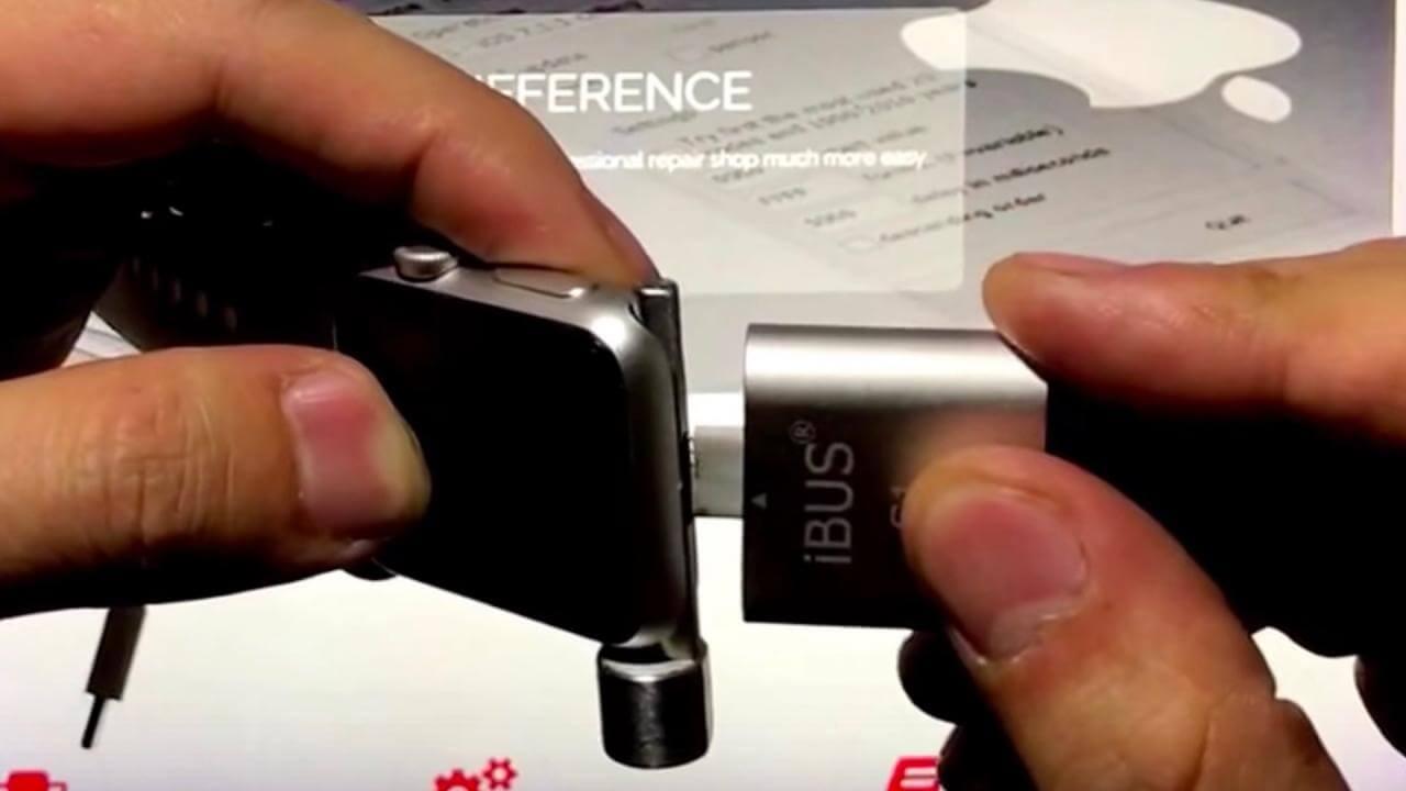 iBus – переходник для скрытого порта Apple Watch