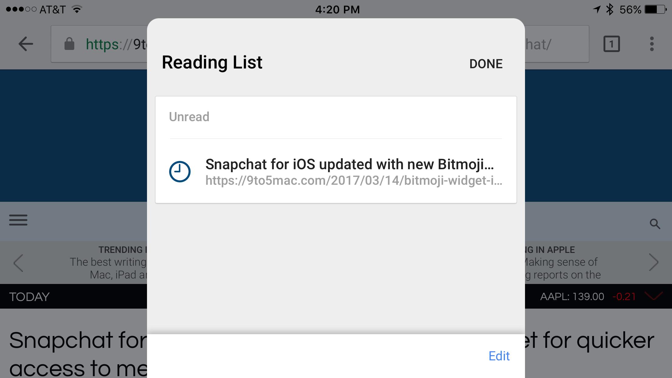 В Chrome для iOS появилась долгожданная функция