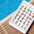 Новая реклама iPhone 7 посвящена стикерам