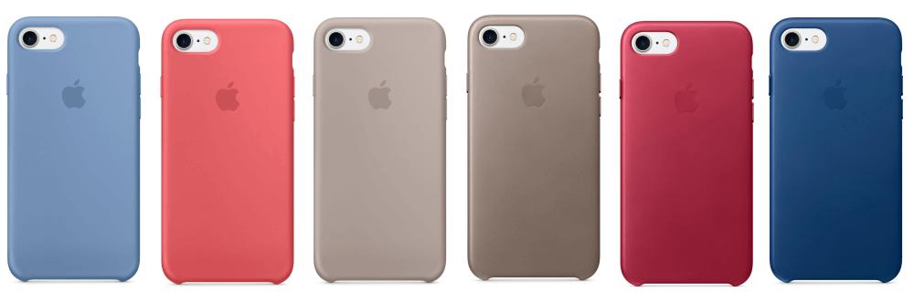 Apple выпустила шесть новых чехлов для iPhone 7 и iPhone 7 Plus