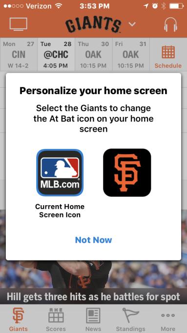 В iOS 10.3 пользователи смогут менять иконки приложений