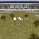 Новый кампус Apple построили в Minecraft