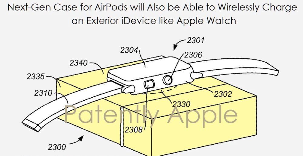 От чехла для AirPods можно будет заряжать iPhone