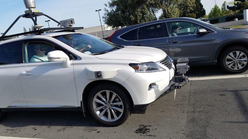 Тестируемый Apple автомобиль запечатлели на фото