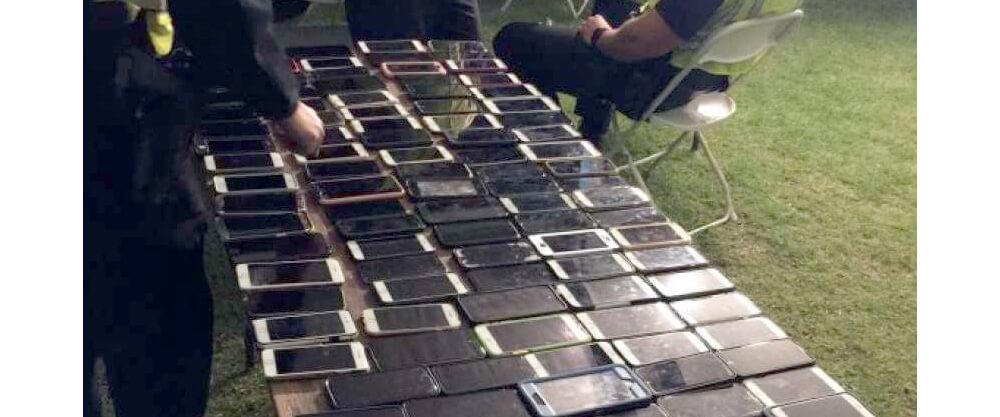 Функция Найти iPhone помогла найти вора со 130 смартфонами на музыкальном фестивале