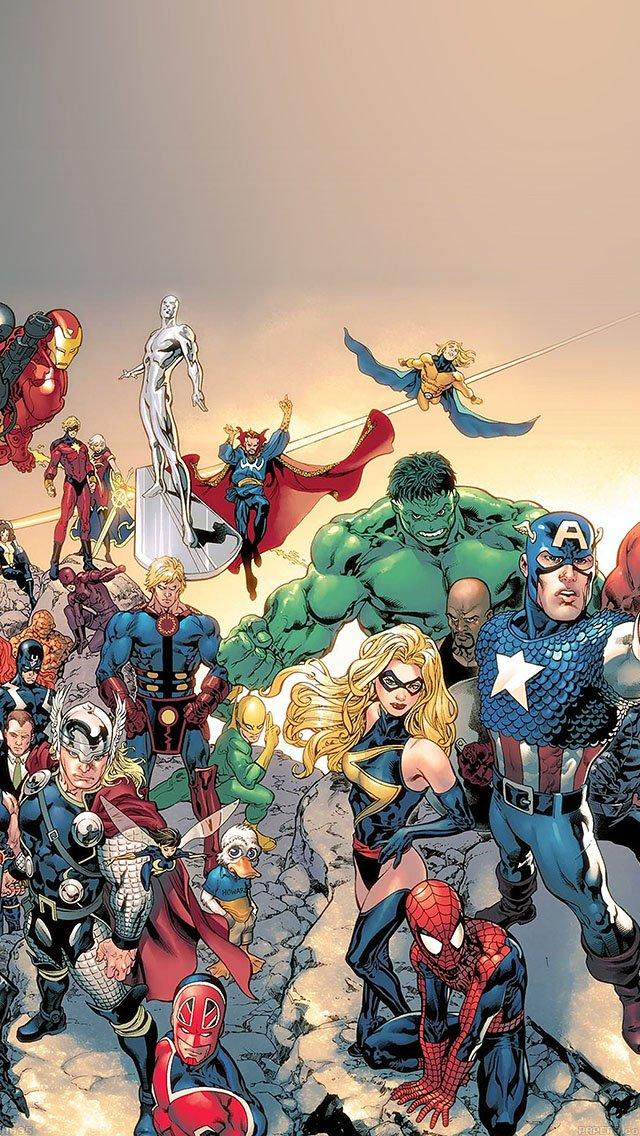 Подборка лучших обоев: комиксы