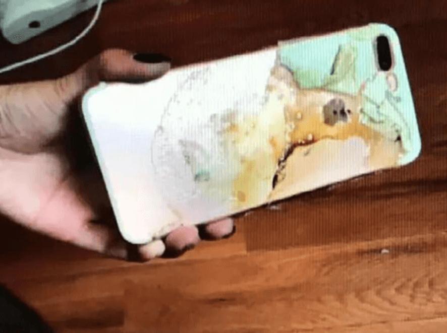 Еще один iPhone 7 Plus загорелся рядом со спящей владелицей