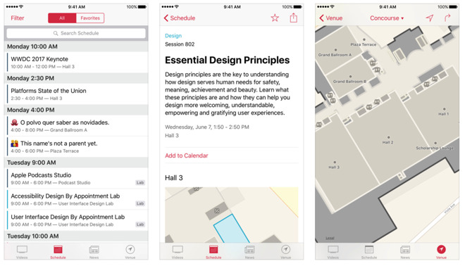 Apple масштабно обновила фирменное приложение WWDC