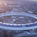 Как новый кампус Apple изменился за год