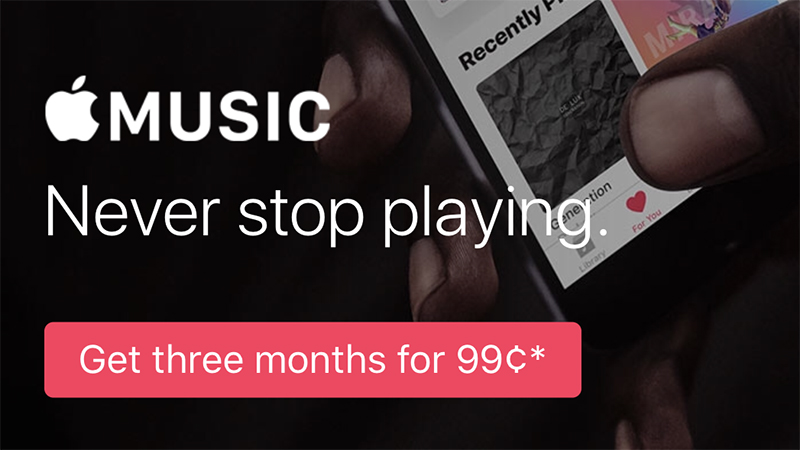 Apple сделала пробную подписку на Apple Music платной
