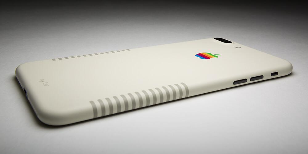 Новые iPhone и MacBook отлично выглядят в ретро-стиле