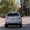 Самоуправляемый автомобиль Apple «поймали» на шоссе