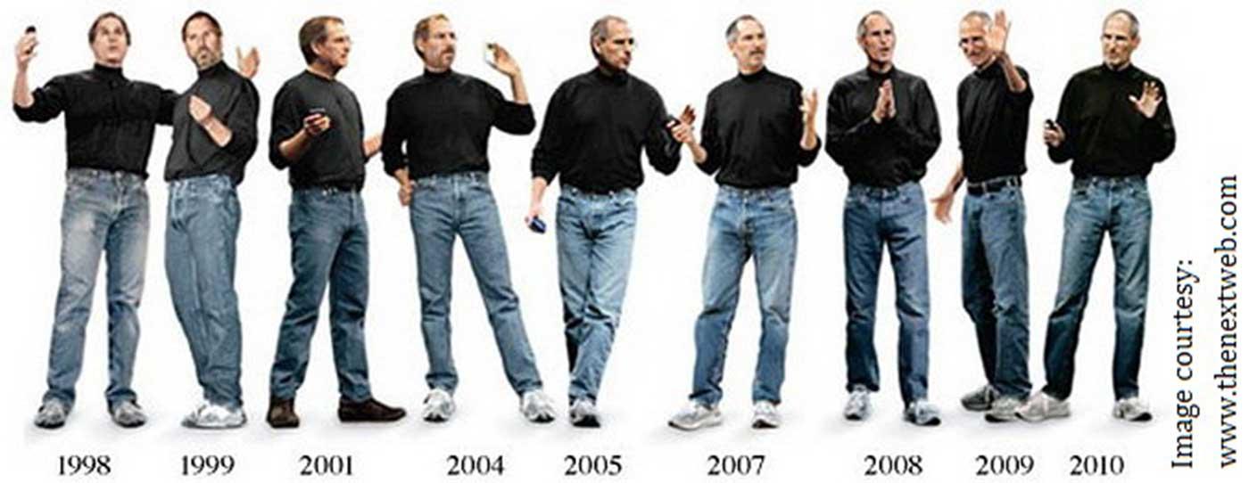 Стив Джобс как законодатель моды в Кремниевой долине