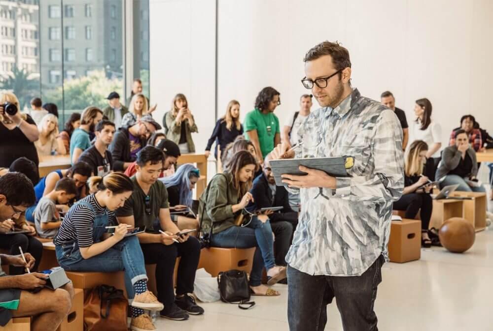 Программа Today at Apple стартовала настоящим праздником в 495 магазинах