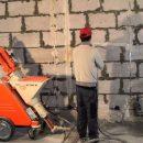 Строительные услуги: механизированная штукатурка