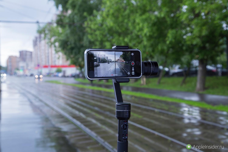 #Видео: Aibird Uoplay 2 — недорогой стабилизатор для iPhone