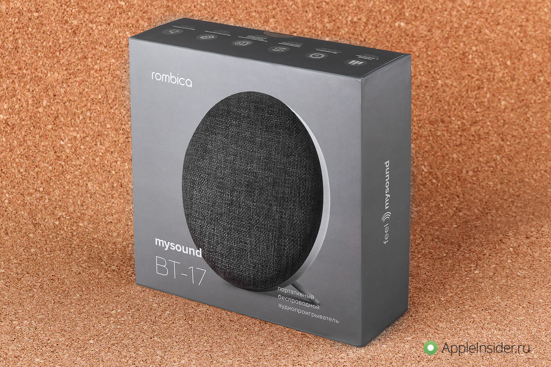 Портативная акустика для каждого: Rombica mysound BT-17
