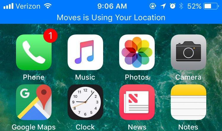 Как узнать, что приложение отслеживает вас в iOS 11