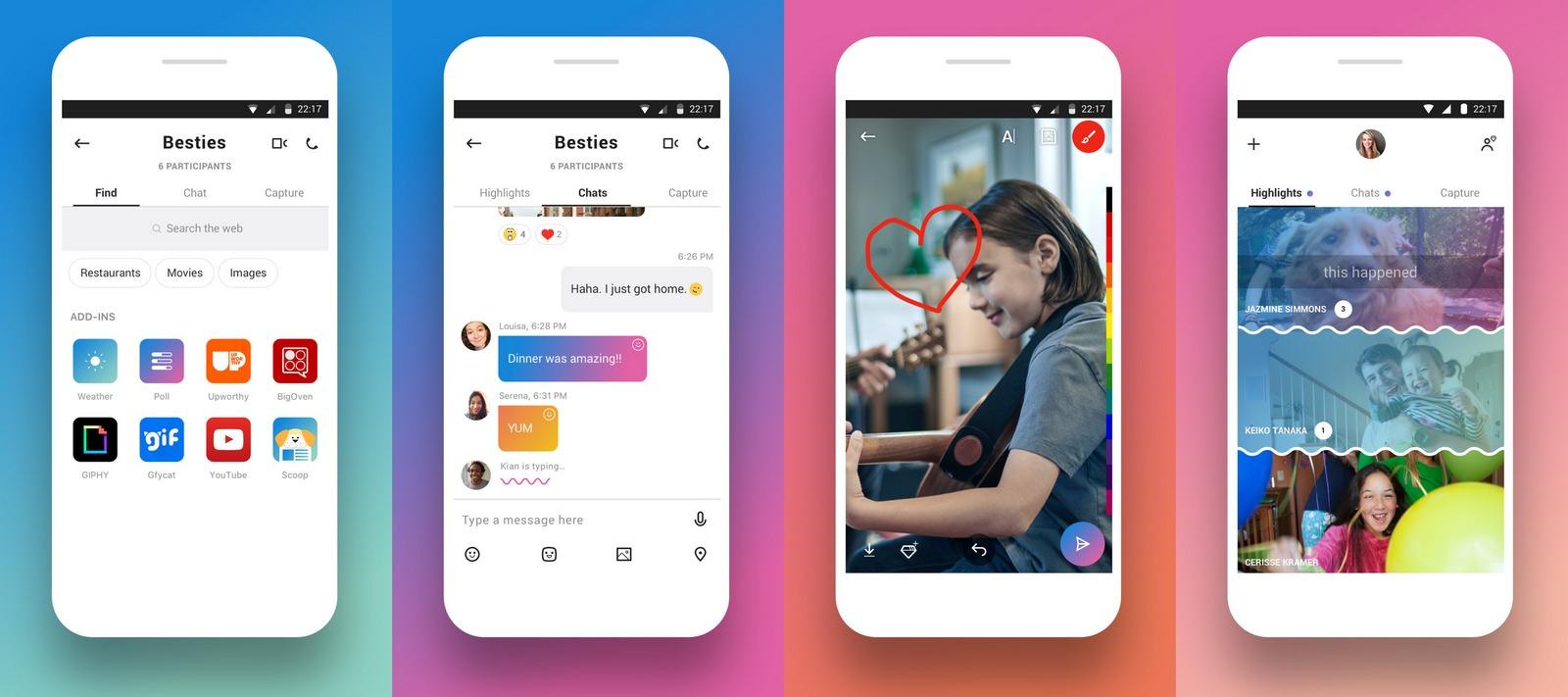 Microsoft превратила обновленный Skype в мессенджер с задатками Snapchat