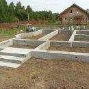 Строительство фундаментов разных типов под ключ в Минске