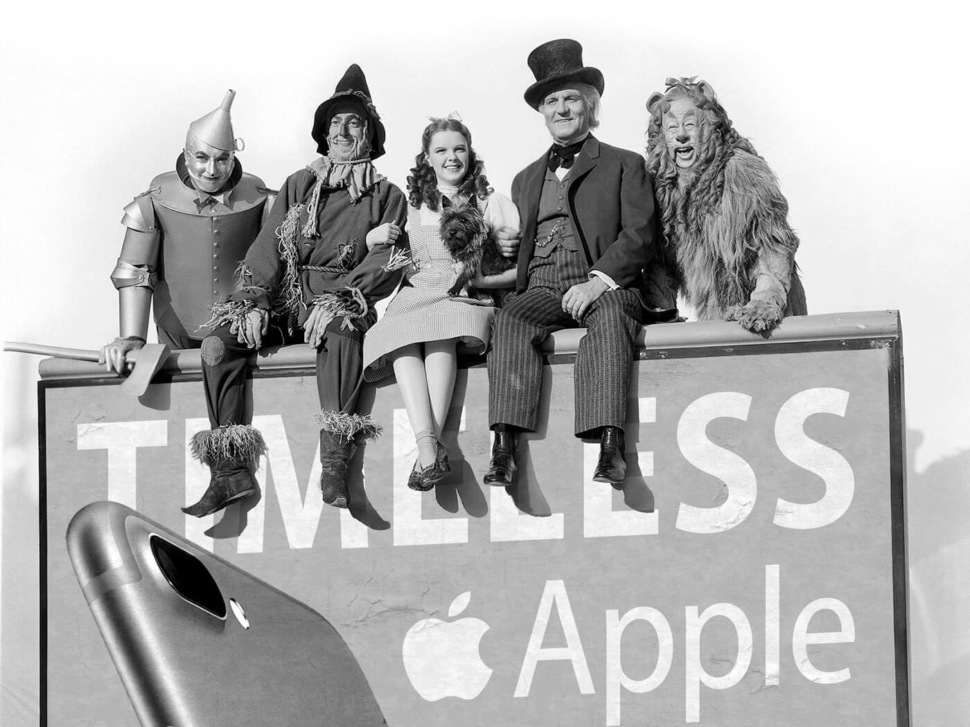 Фанат Apple добавил iPhone и другие продукты компании в кадры из классических фильмов