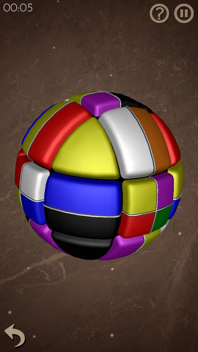 Сфера Льва — кубик Рубика превращается в шар