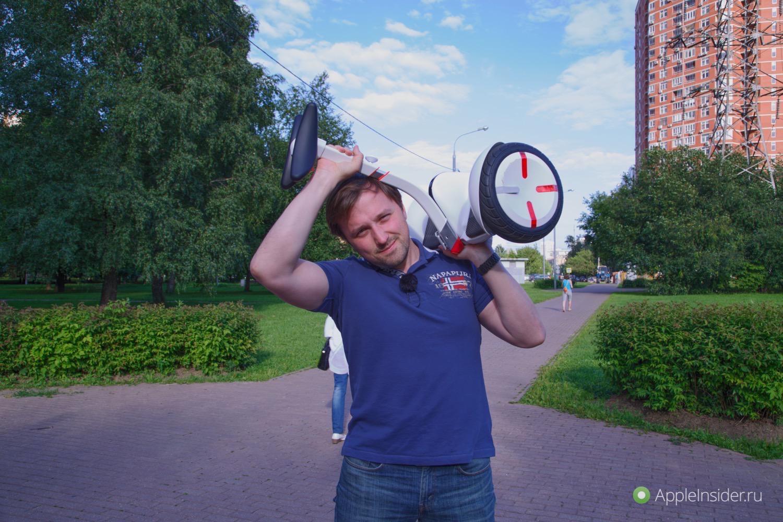 #Видео: Ninebot Mini Pro — транспорт на каждый день?
